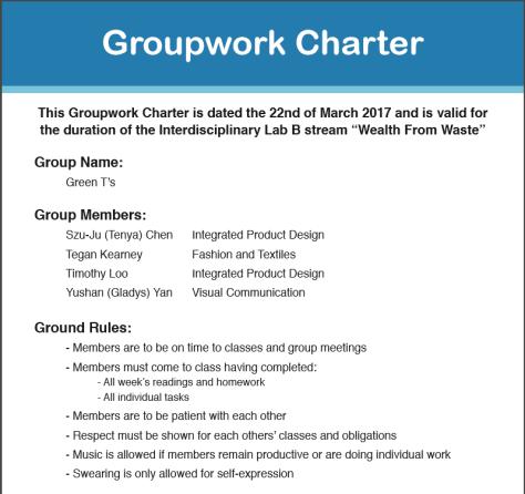 Groupwork Charter Image